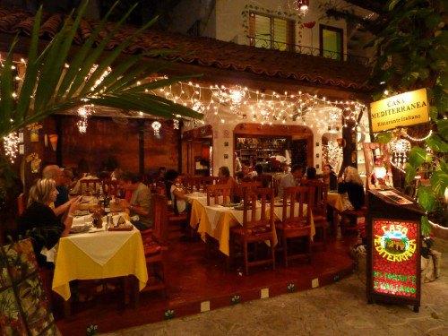 Casa mediterranea best italian restaurant in playa del - Casa italia mexico ...